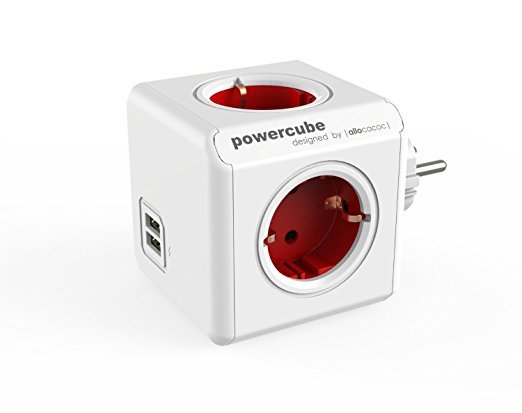allocacoc PowerCube Duo USB