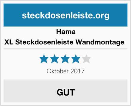 Hama XL Steckdosenleiste Wandmontage  Test
