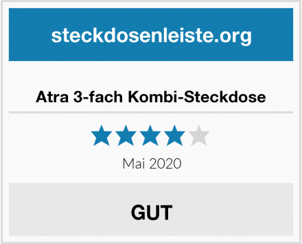 No Name Atra 3-fach Kombi-Steckdose Test