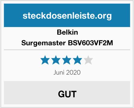 Belkin Surgemaster BSV603VF2M Test