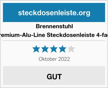 Brennenstuhl Premium-Alu-Line Steckdosenleiste 4-fach Test