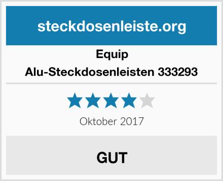 Equip Alu-Steckdosenleisten 333293 Test