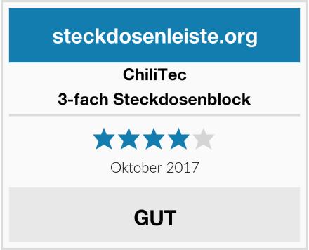 ChillTec 3-fach Steckdosenblock Test