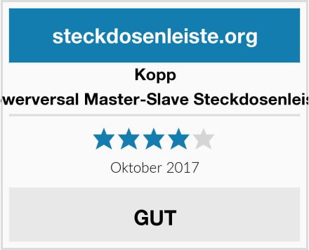 Kopp Powerversal Master-Slave Steckdosenleiste Test