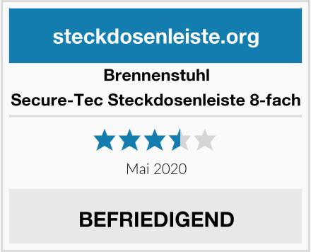 Brennenstuhl Secure-Tec Steckdosenleiste 8-fach Test