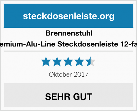Brennenstuhl Premium-Alu-Line Steckdosenleiste 12-fach Test