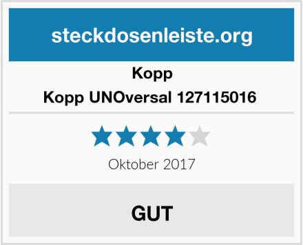 Kopp Kopp UNOversal 127115016  Test