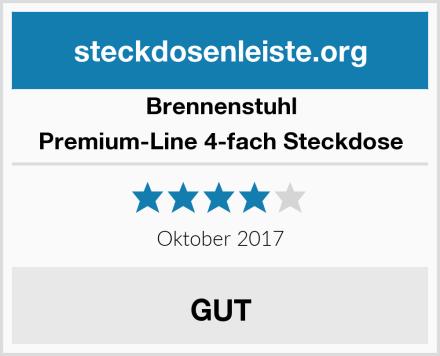 Brennenstuhl Premium-Line 4-fach Steckdose Test
