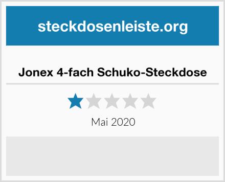 Jonex 4-fach Schuko-Steckdose Test