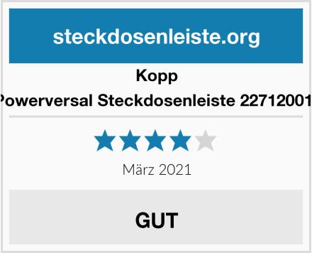 Kopp Powerversal Steckdosenleiste 227120011  Test