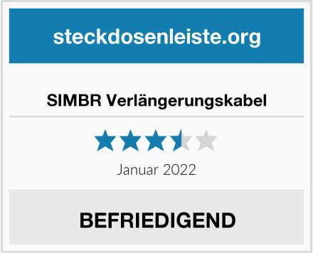 SIMBR Verlängerungskabel Test