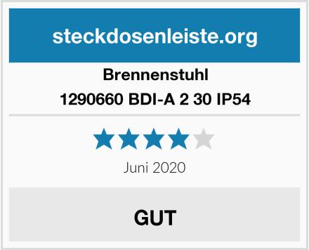 Brennenstuhl 1290660 BDI-A 2 30 IP54 Test