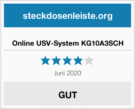 Online USV-System KG10A3SCH Test