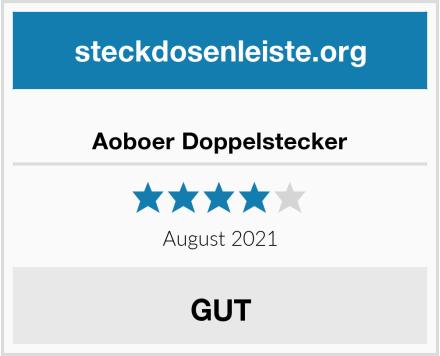 Aoboer Doppelstecker Test