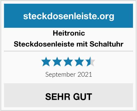 Heitronic Steckdosenleiste mit Schaltuhr Test