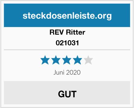 REV Ritter 021031 Test