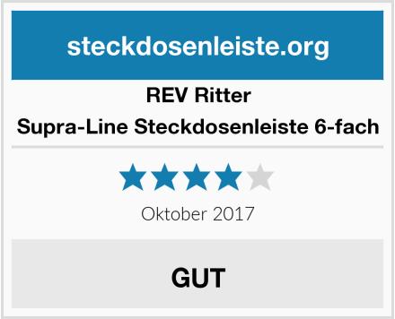 REV Ritter Supra-Line Steckdosenleiste 6-fach Test