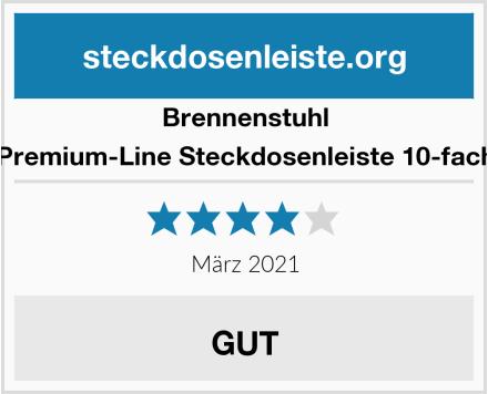 Brennenstuhl Premium-Line Steckdosenleiste 10-fach Test