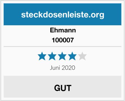 Ehmann 100007 Test