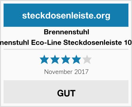 Brennenstuhl Brennenstuhl Eco-Line Steckdosenleiste 10-fach Test