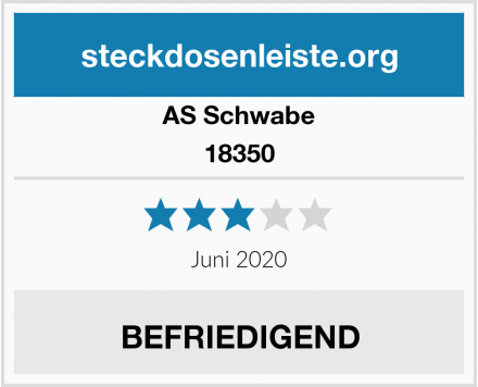 AS Schwabe 18350 Test