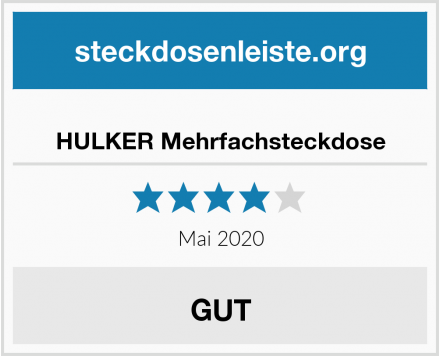 No Name HULKER Mehrfachsteckdose Test