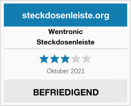 Wentronic Steckdosenleiste Test