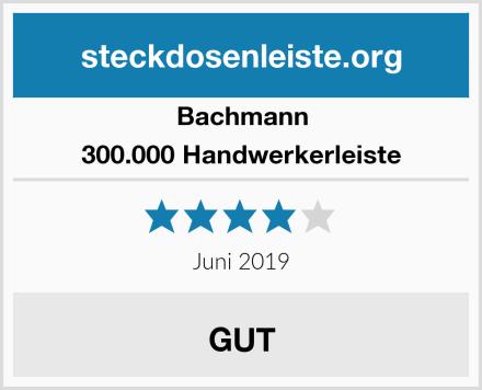 Bachmann 300.000 Handwerkerleiste Test