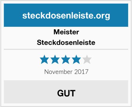 Meister Steckdosenleiste Test