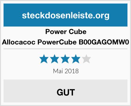 Power Cube Allocacoc PowerCube B00GAGOMW0 Test