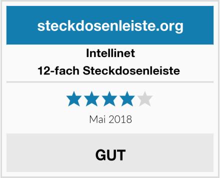 Intellinet 12-fach Steckdosenleiste  Test