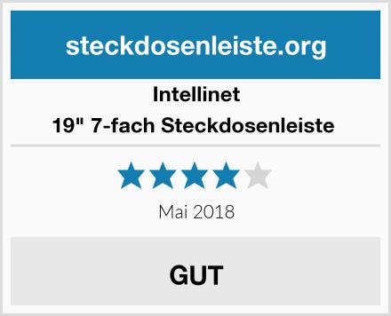 "Intellinet 19"" 7-fach Steckdosenleiste  Test"