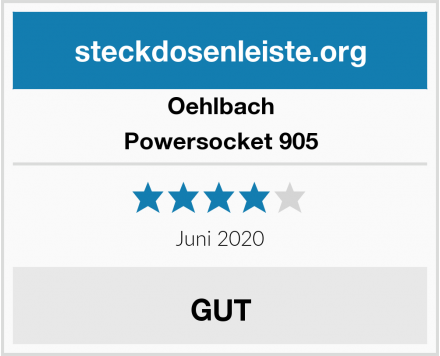 Oehlbach Powersocket 905 Test