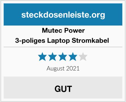 MutecPower 3-poliges Laptop Stromkabel  Test
