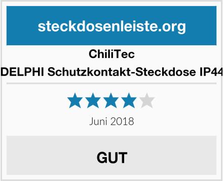 ChillTec DELPHI Schutzkontakt-Steckdose IP44 Test