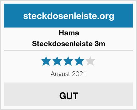 Hama Steckdosenleiste 3m Test