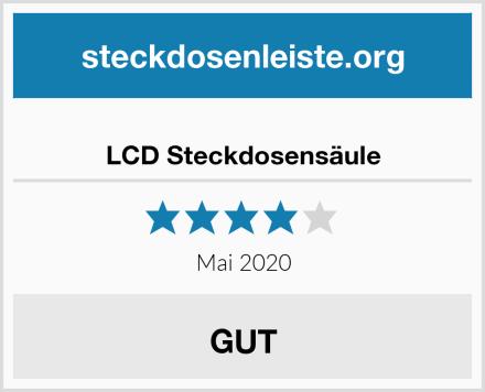 LCD Steckdosensäule Test