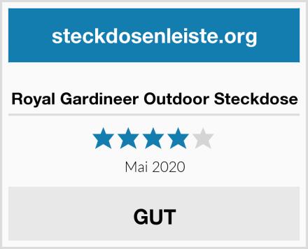 Royal Gardineer Outdoor Steckdose Test