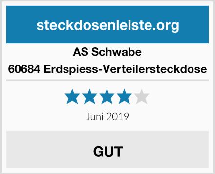 AS Schwabe 60684 Erdspiess-Verteilersteckdose Test