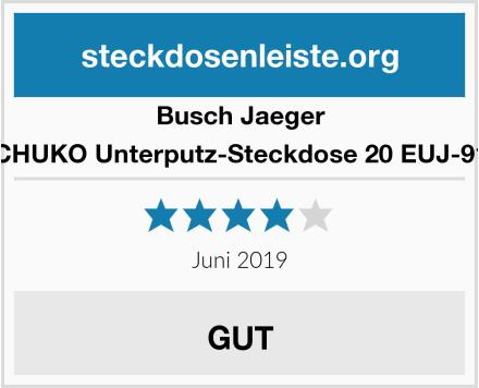 Busch-Jaeger SCHUKO Unterputz-Steckdose 20 EUJ-914 Test