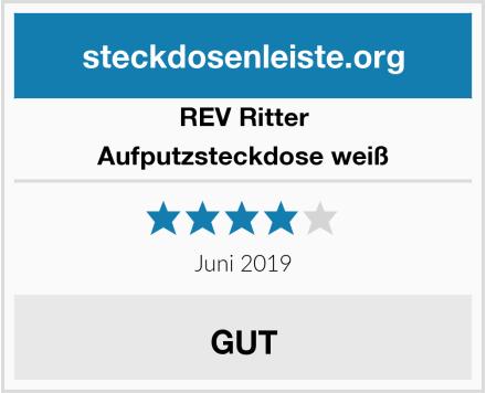 REV Ritter Aufputzsteckdose weiß Test