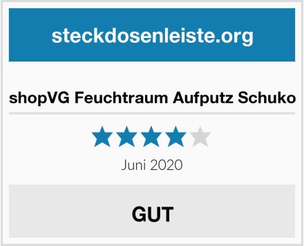 No Name shopVG Feuchtraum Aufputz Schuko Test