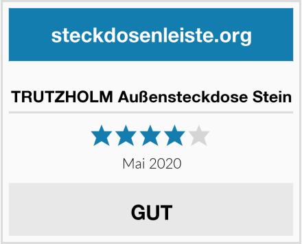 No Name TRUTZHOLM Außensteckdose Stein Test