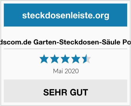 No Name ledscom.de Garten-Steckdosen-Säule Polly Test