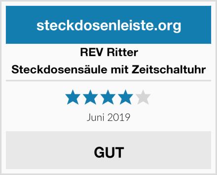 REV Ritter Steckdosensäule mit Zeitschaltuhr Test