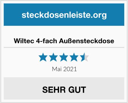 No Name Wiltec 4-fach Außensteckdose Test