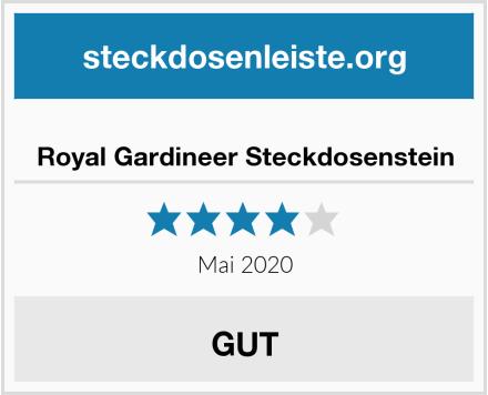 No Name Royal Gardineer Steckdosenstein Test