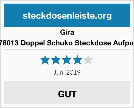 Gira 078013 Doppel Schuko Steckdose Aufputz Test