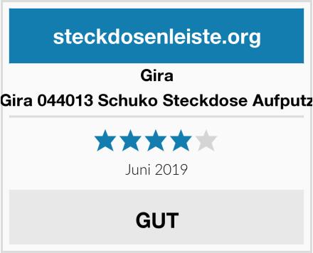 Gira Gira 044013 Schuko Steckdose Aufputz Test