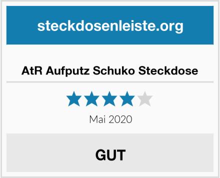 No Name AtR Aufputz Schuko Steckdose Test